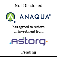 Anaqua pending investment announcement (image)