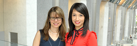 Stephanie Braming and Vivian Lin Thurston