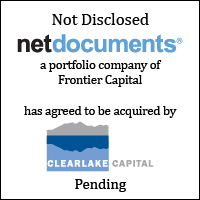 NetDocument has agreed to be acquired by Clearlake Capital