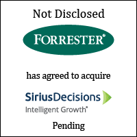 Forrester Research Has Agreed to Acquire SiriusDecisions