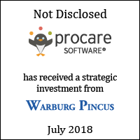 Procare Software has received a strategic investment from Warburg Pincus