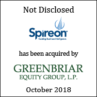 Spireon has been acquired by GreenBriar Equity Group, L.P.