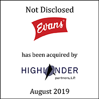 Evans has been acquired by Highlander