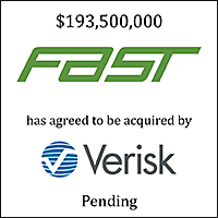 FAST has agreed to be acquired by Verisk