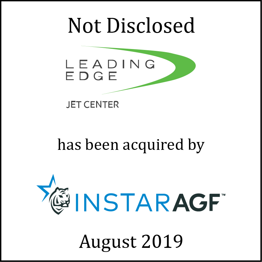 Leading Edge Jet Center Has Been Acquired by InstarAGF