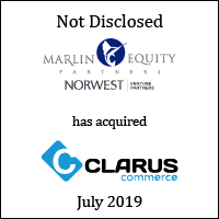 Marlin Equity Partners has acquired Clarus Commerce