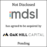 mdsl has agreed to be acquired by Oak Hill Capital