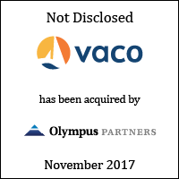 Vaco has been acquired by Olympus Partners