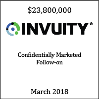 Invuity Confidentially Marketed Follow-on March 2018