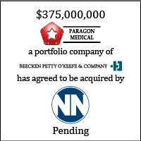 Paragon Medical sale to NN, Inc.